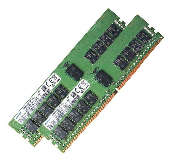 32gb Kit 2x16gb Ddr4 Server Hp Dell Ibm Lenovo 30% Off