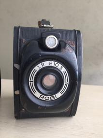 Máquina Fotográfica Antiga Marca I.c.a.f. Milano