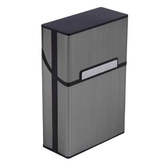 Luz Alumínio Cigarro Cigar Caso Bolso Caixa Container Armaze