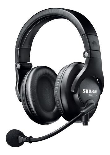 Microfone Headset Shure Para Broadcast Brh440m-lc