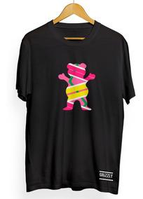 Camiseta Grizzly Skate Dgk Diamond T-shirt Odd Griptipe Urso