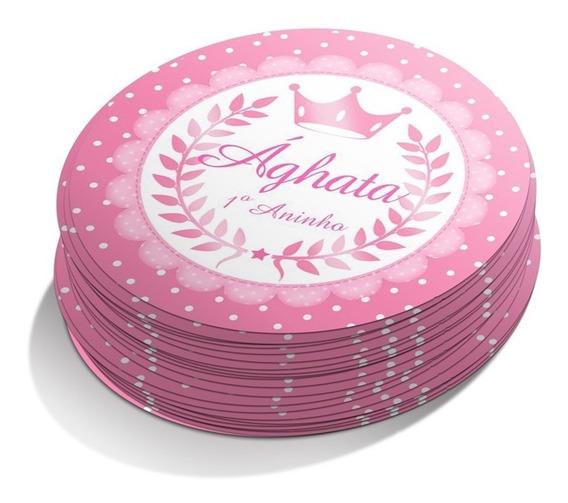100 Rotulos Adesivos Personalizados Para Lembrancinhas