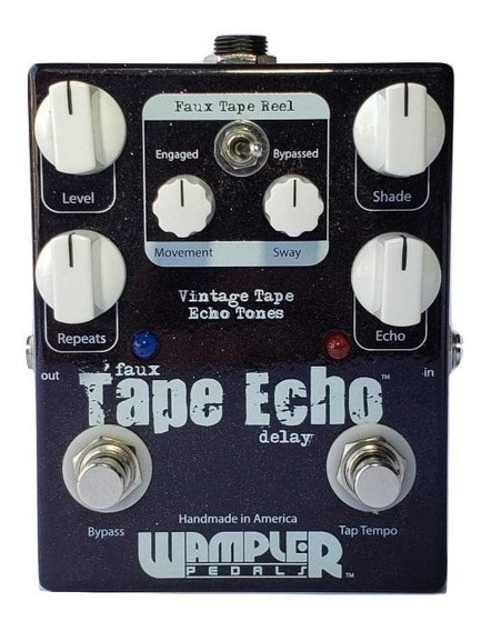 Pedal Wampler Faux Tape Echo Delay