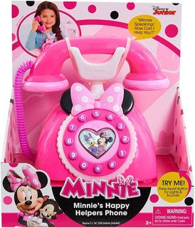 Telefono Jueguete Minnie Mouse Happy Helpers Disney Junior