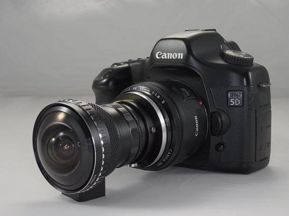 Fisheye Olho De Peixe 0.15x Canon Nikon Sony 58mm
