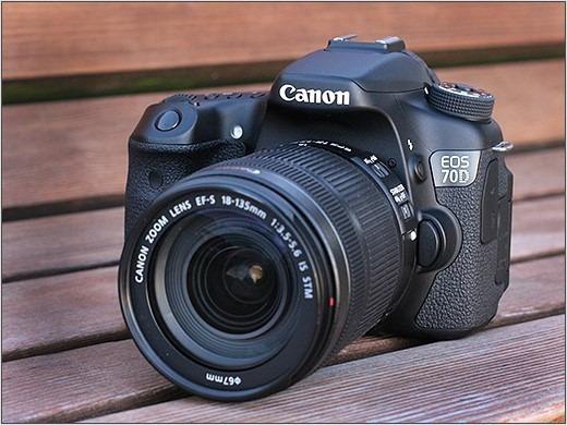 Dslr Profissional Canon 70d+lente50mm F/ 1.8