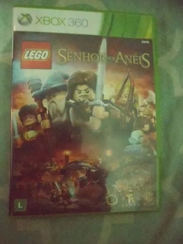 Lego The Lord Of The Rings O Senhor Dos Aneis Xbox 360