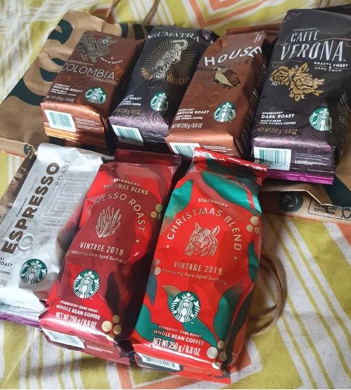 Café Grano Tostado 250g /8.8oz Starbucks Todos Los Sabores