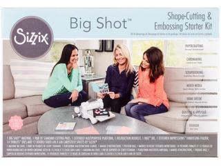 Maquina Sizzix Big Shot Con Kit De Inicio