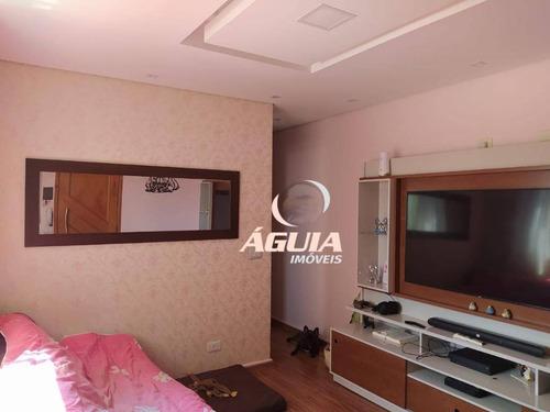 Cobertura Com 2 Dormitórios À Venda, 50 M² Por R$ 392.000,00 - Vila Scarpelli - Santo André/sp - Co0926