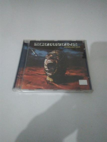Cd Scorpions Acoustica Usado Original Em Ótimo Estado