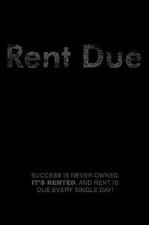 Rent Due : Bearded Man Books