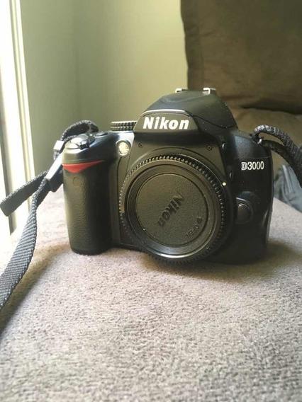 Câmera Profissional - Nikon D3000 - Barato. Para Sair Hoje!