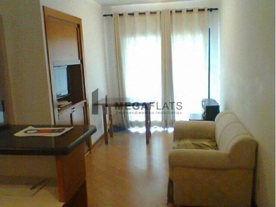 05646 - Flat 1 Dorm, Brooklin Novo - São Paulo/sp - 5646