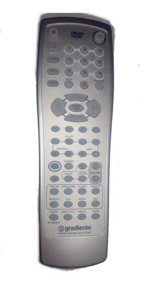 Controle Remoto Home Theater Gradiente Hts641 Original