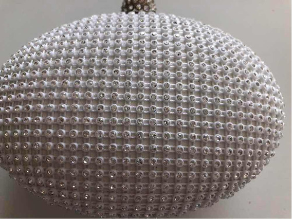 Carterita De Fiesta Clutch Strass Usa Hiper Brillo Chic