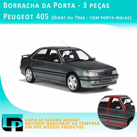 Kit 3 Peças Borracha Porta Peugeot 405 Ano 95 - Frete Grátis