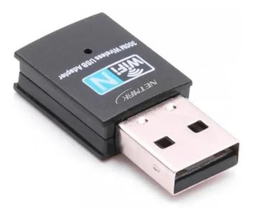 Imagen 1 de 2 de Placa De Red Adaptador Wifi Usb Nano 300mbps Ade Ramos