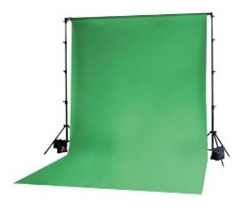 Fundo Fotográfico Tecido Verde Chroma Muslim Background 3x5m