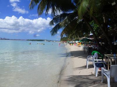 Hotel Y Restaurantes En Boca Chica, Frente Al Mar Con Play