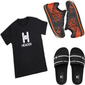 Kit 1 Tênis Masculino Spider Confort +1 Chinelo +1 Camisa