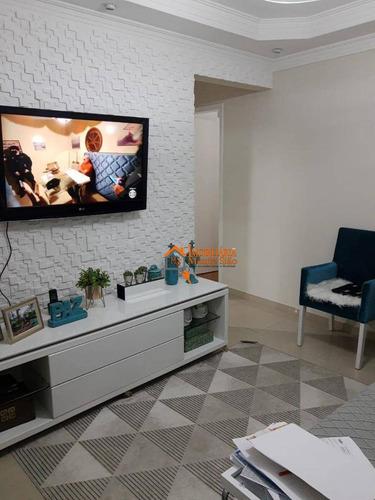 Imagem 1 de 15 de Apartamento Com 2 Dormitórios À Venda, 55 M² Por R$ 280.000,00 - Jardim Odete - Guarulhos/sp - Ap2584