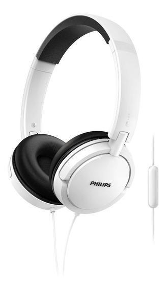 Auricular Philips Con Micrófono Shl5005wt/00 En 6 Cuotas