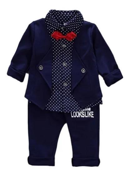 Conjunto Terno Infantil Social Pajem Elegante Alta Qualidade