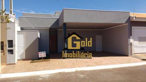 Casa Com 3 Dormitórios À Venda, 124 M² Por R$ 290.000 - Condomínio Verona - Brodowski/sp - Ca0766