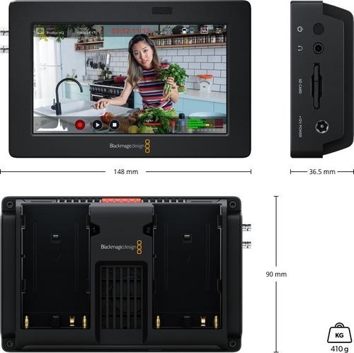 Imagem 1 de 5 de Monitor Blackmagic Design Video Assist