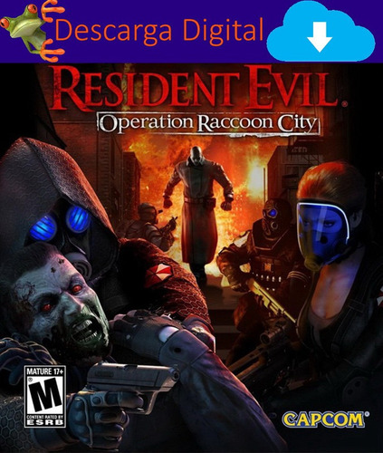 Resident Evil Operation Raccoon City Juego Pc Digital