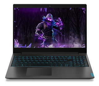 Notebook Gamer Lenovo I5 9300h Ssd 256gb 8gb 15.6 Gtx1050