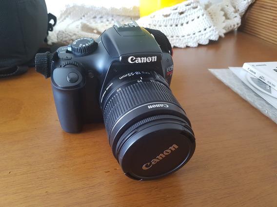 Câmera Eos Canon T3 Lente 18-55mm - Somente 5mil Clicks