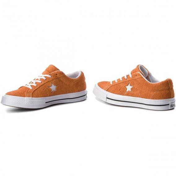 Converse - One Star Ox 261787c Bold Mandarin/white/white