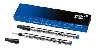 Repuesto Montblanc 2 Rollerball Legrand Refills In Pacific