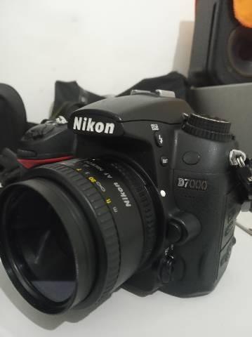 Nikon D7000 Completa 18 105 700 300 50mm