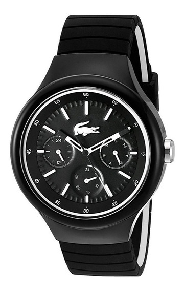 Reloj Lacoste Borneo Fecha/día Silicón Negro Hombre 2010870