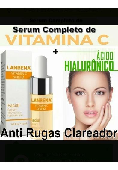 Serum Completo Vitamina C+acido Hialuronico Botox Lanbena