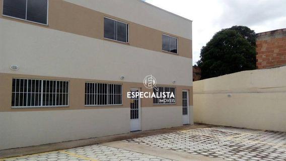 Casa Com 2 Dormitórios À Venda, 60 M² Por R$ 160.000 - São Benedito - Santa Luzia/mg - Ca0158