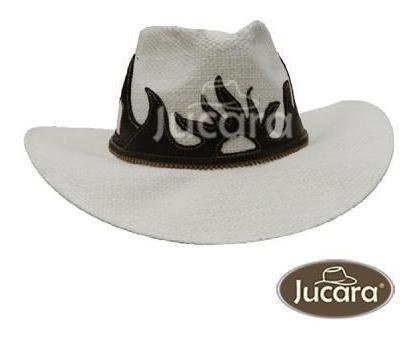 Sombrero Jucara De Yute Y Cuero
