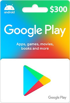 Imagen 1 de 2 de Tarjeta De Regalo Google Play $300