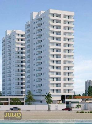 Entrada R$ 70 Mil + Saldo Facilitado Pela Construtora. Residencial Ilha De Capri Em Mongaguá/sp Apartamento Com 2 Dormitórios - Ap0952