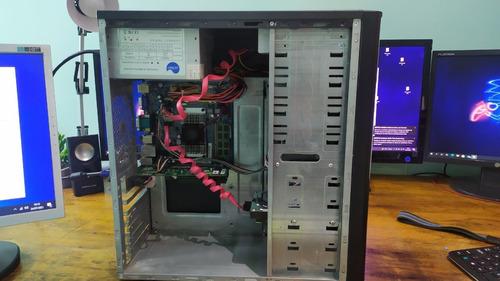 Imagem 1 de 7 de Computado Intel Dual Core 847 1.10ghz 4gb Ram Monitor LG 19