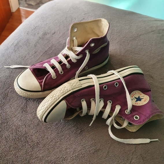 Zapatillas All Star Converse Talle 35 Impecables Divinas !