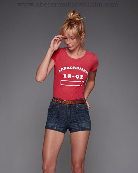 Camiseta Abercrombie Feminina Polos Blusas Tommy Hollister