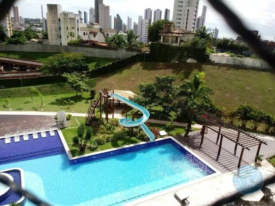 Venda De Apartamento Com 2 Quartos Sendo 01 Suite Ponta Negra - V-11043