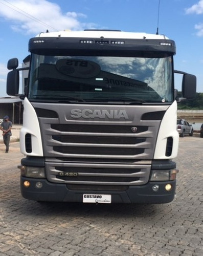 Scania G-420 11/12 6x2 Branco Cegonheiro
