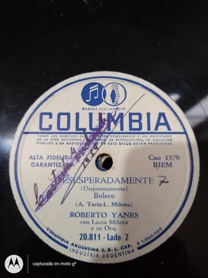 Disco Pasta Roberto Yanes Lucio Milena Columbia C97