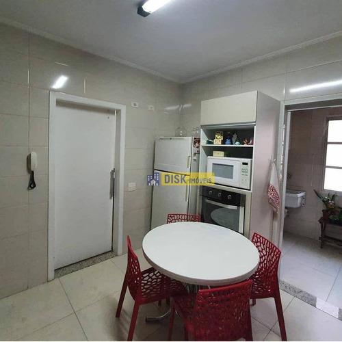 Imagem 1 de 8 de Apartamento Com 3 Dormitórios À Venda, 145 M² Por R$ 640.000,00 - Chácara Inglesa - São Bernardo Do Campo/sp - Ap2173