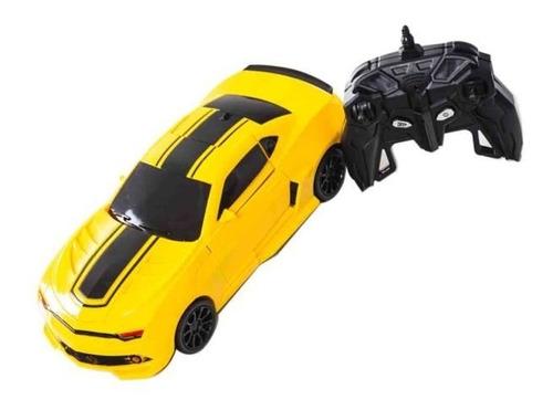 Carro Control Remoto Transformer  Lamborghini Obsequio Pilas